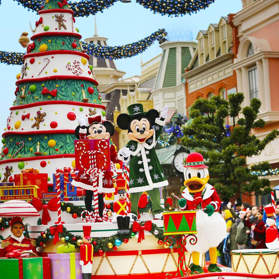 Freizeitpark Wintersaison 2019 im Überblick / Quelle Disneyland Paris