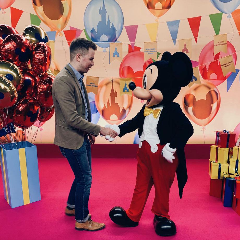 Mickey Mouse 90. Geburtstag im Disneyland Paris