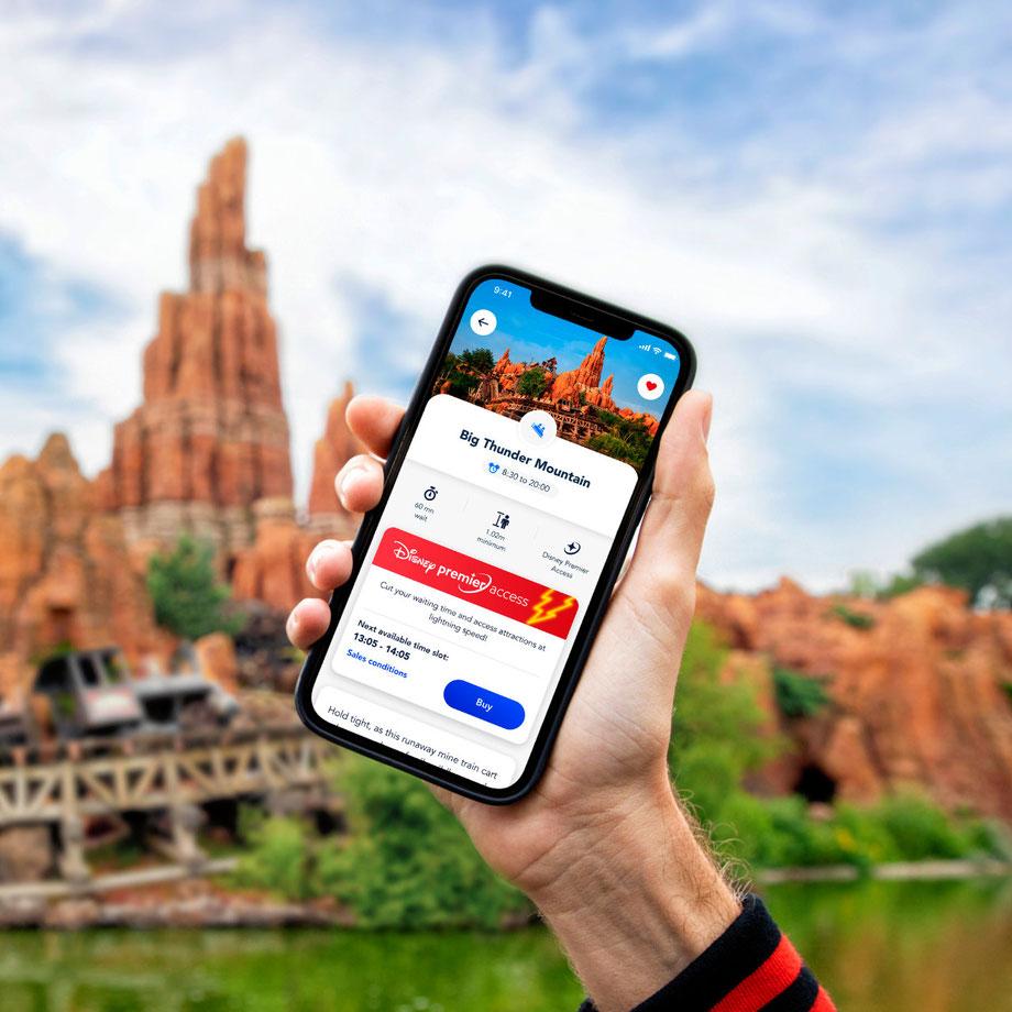 Neuen Standby Pass und Disney Premier Access in Disneyland Paris