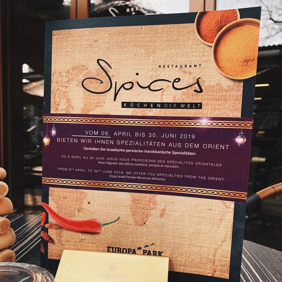 Restaurant SPICES – Küchen der Welt im Europa-Park