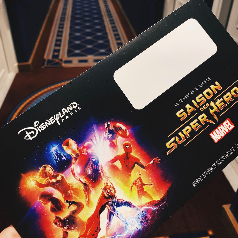 Marvel Saison der Superhelden im Disneyland Paris