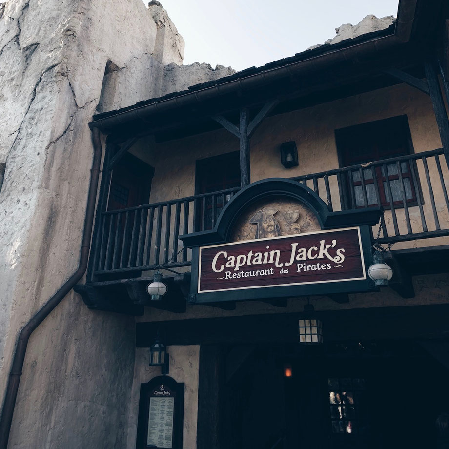 Captain Jack's - Restaurant des Pirates im Disneyland Paris