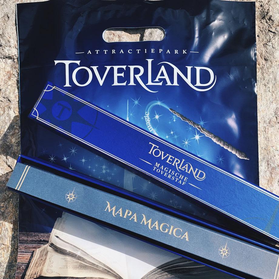 Magischer Zauberstab im Toverland