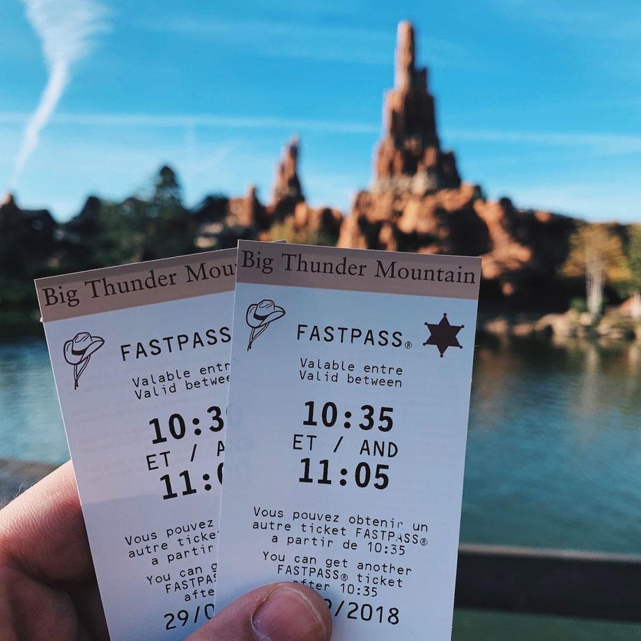 Fastpässe Disneyland Paris