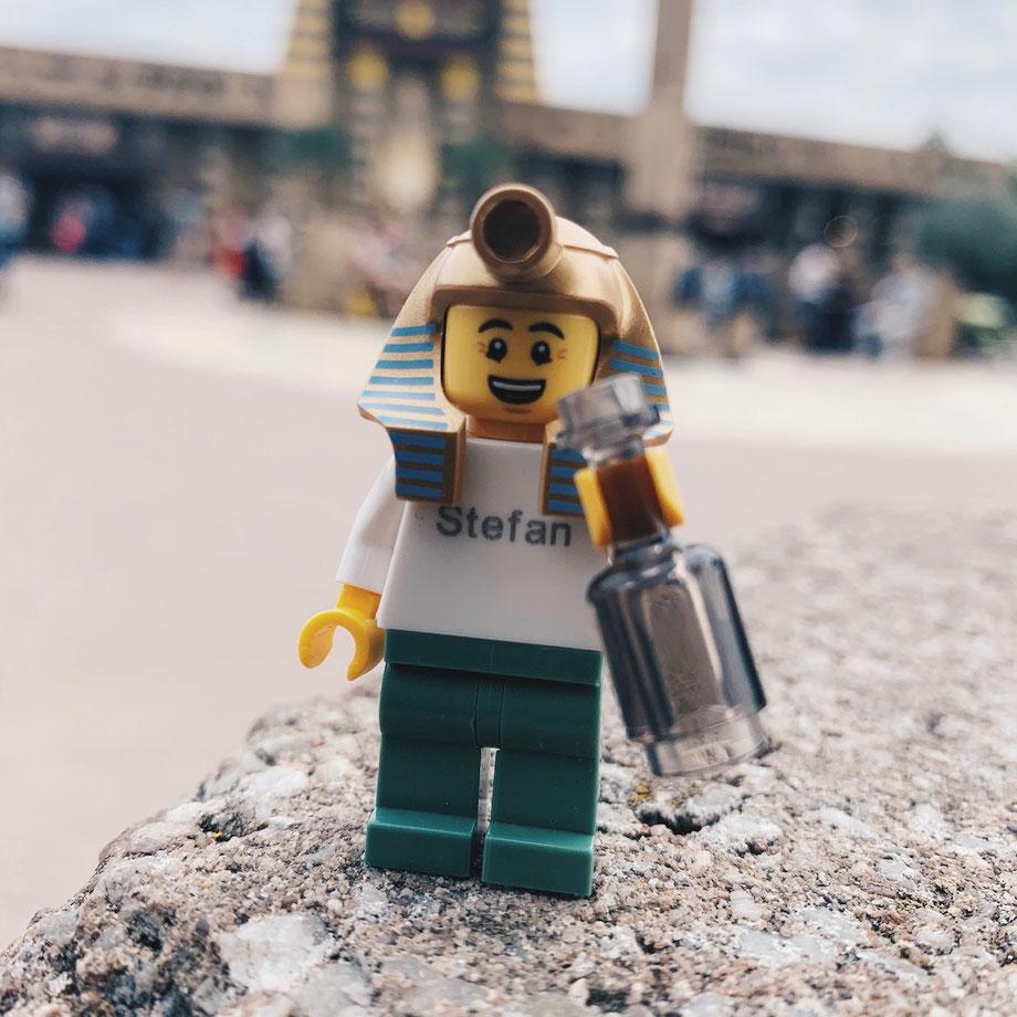 Personalisierte LEGO Figur im LEGOLAND Deutschland