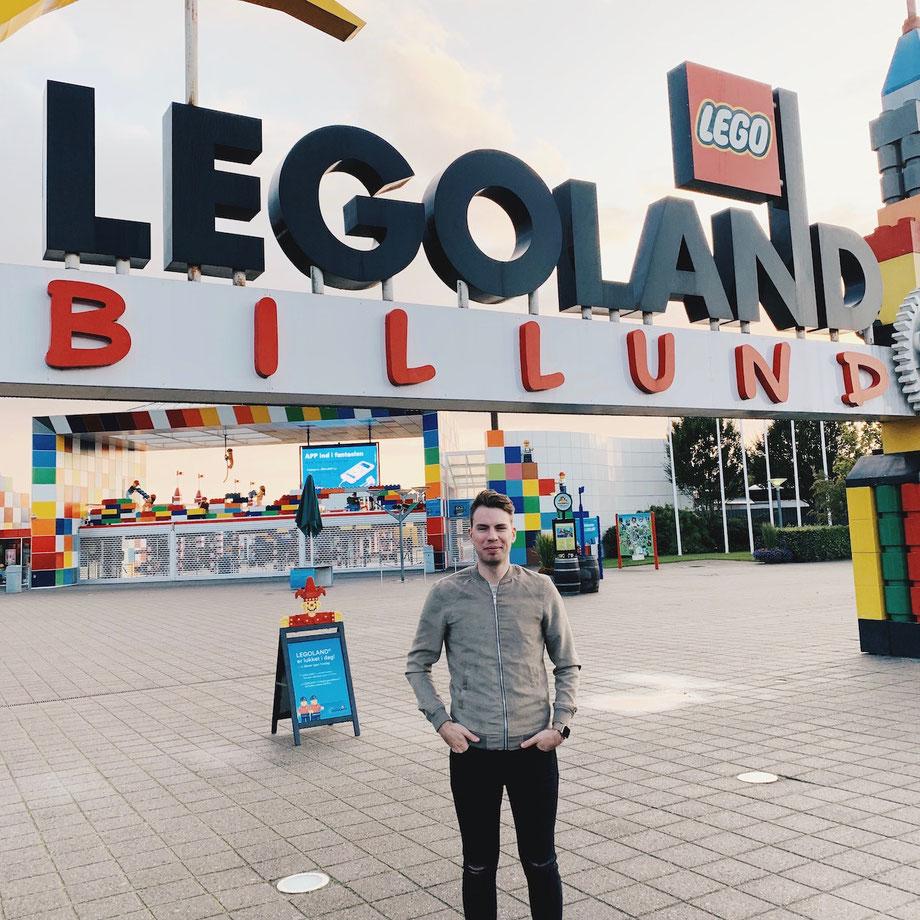 Erstbesuch im LEGOLAND Billund