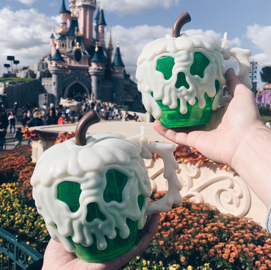 Der vergiftete Apfel im Disneyland Paris