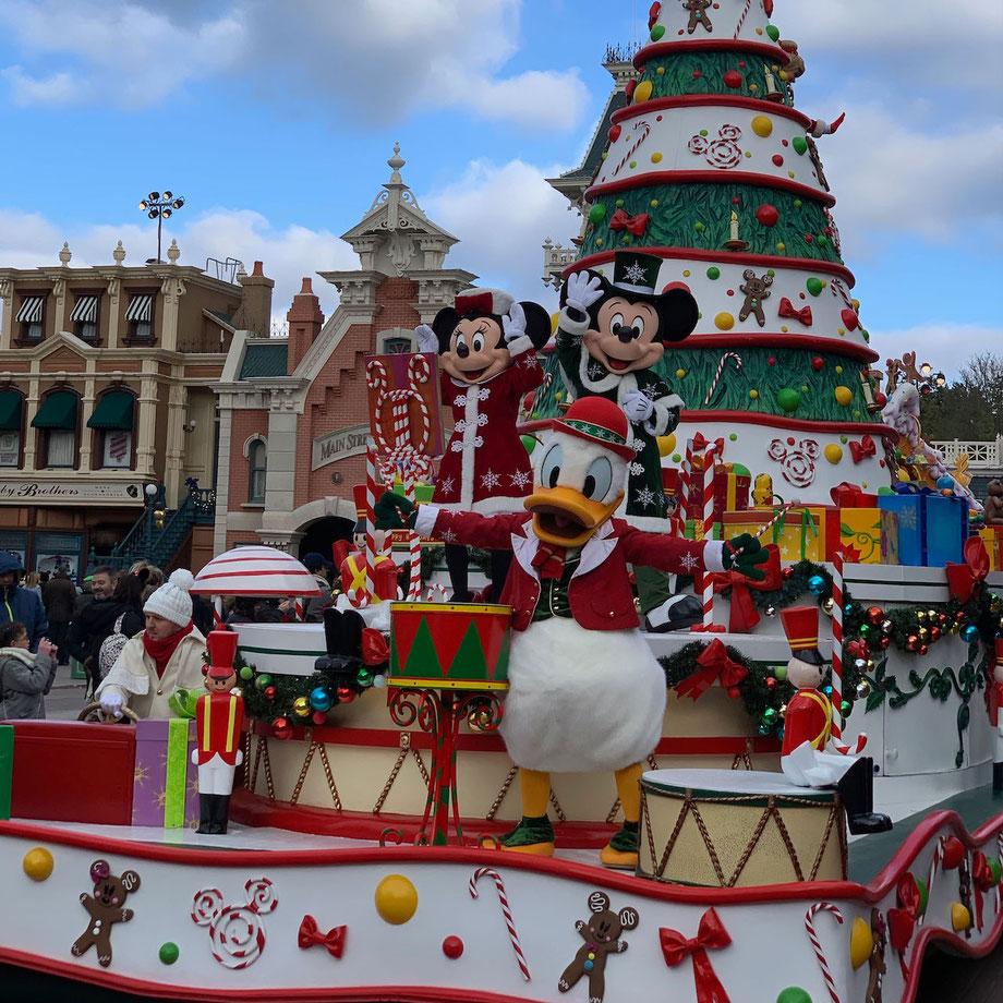 Weihnachtssaison 2018 im Disneyland Paris
