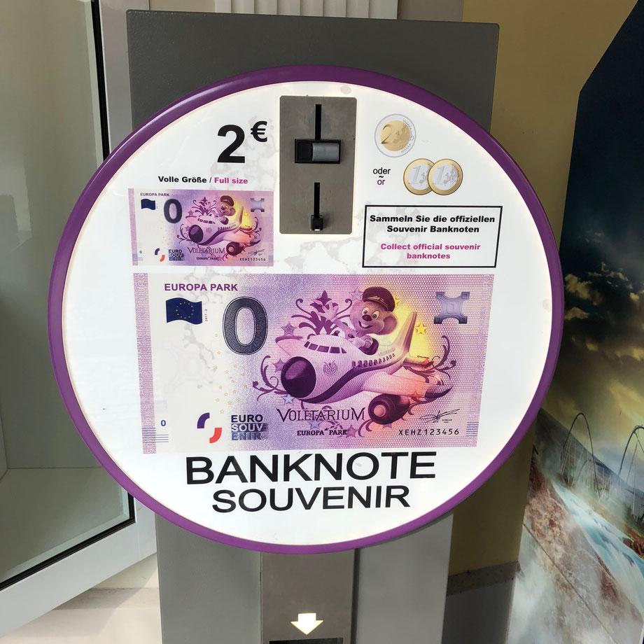 Freizeitpark Banknote