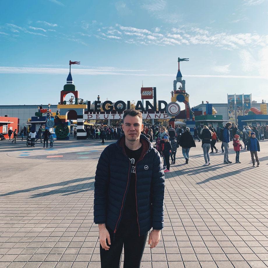 Erstbesuch im LEGOLAND Deutschland