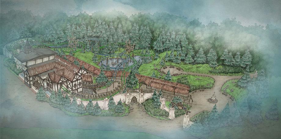 2020: Neue Familienachterbahn im Freizeitpark Efteling am Bob-Standort
