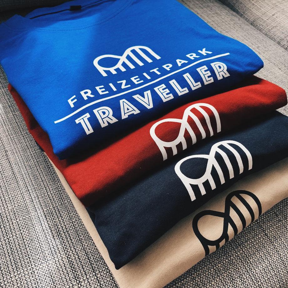 Neue Freizeitpark Traveller T-Shirts