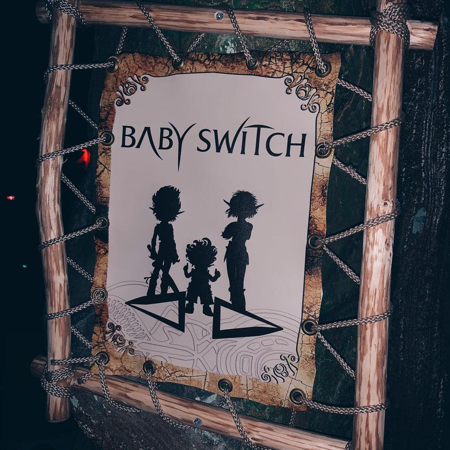 Baby Switch im Freizeitpark