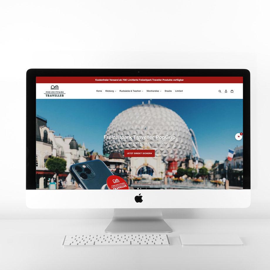 Neuer Freizeitpark Traveller Onlineshop