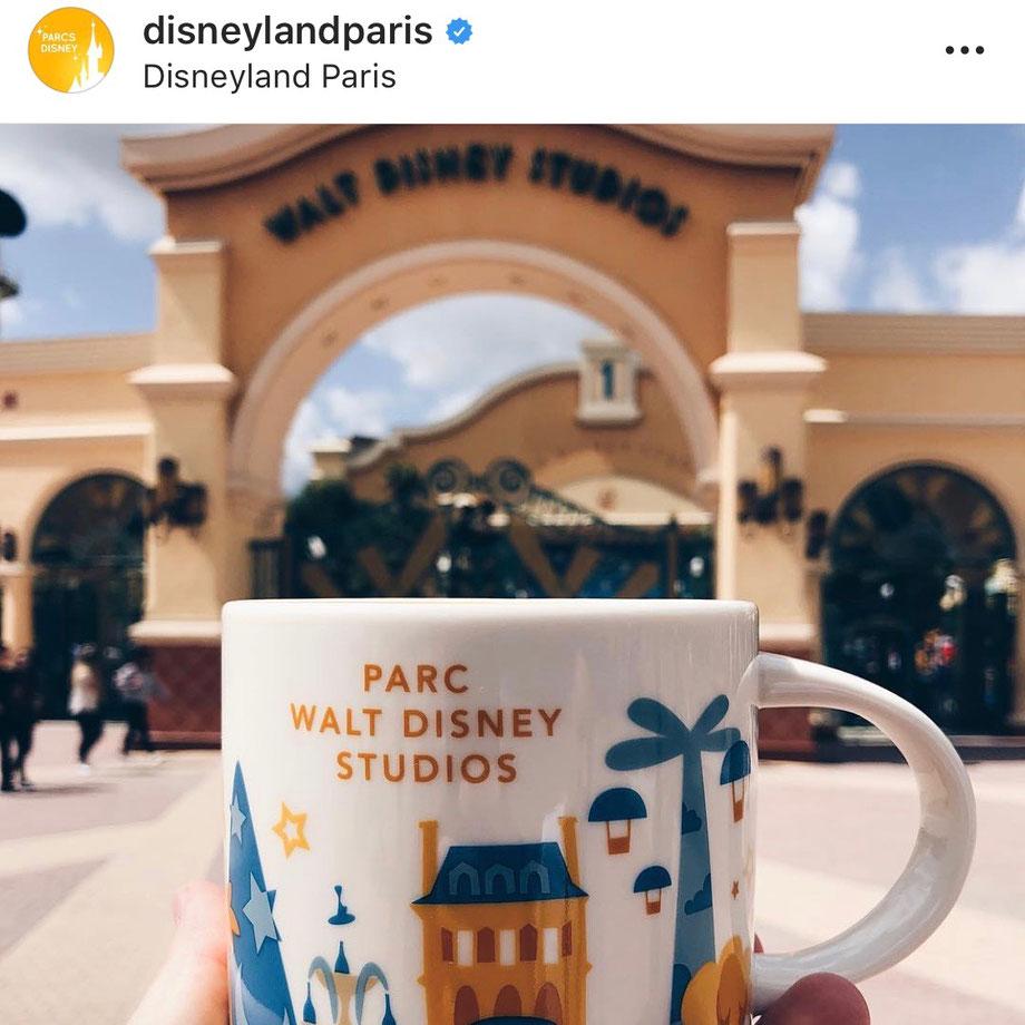 WOW! Disneyland Paris postet Freizeitpark Traveller Bilder auf Instagram
