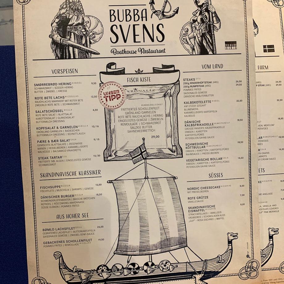 """Bubba Svens"" im Hotel Kronasar im Europa-Park"