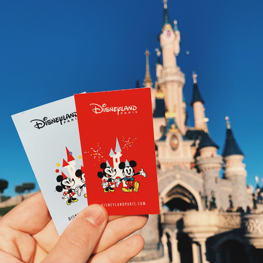 Tickets Disneyland Paris