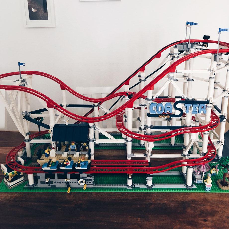 Lego Achterbahn Set
