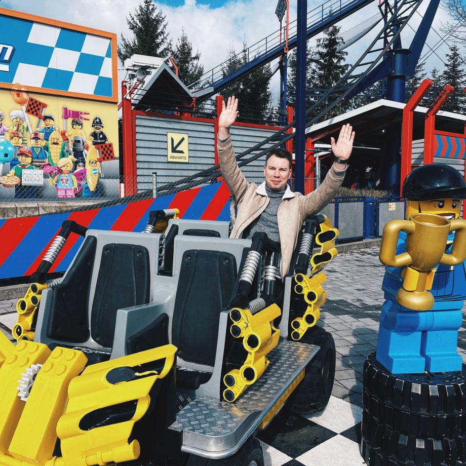 Bereit für die neue Saison 2021 / Alleine im geschlossenen LEGOLAND Deutschland Resort