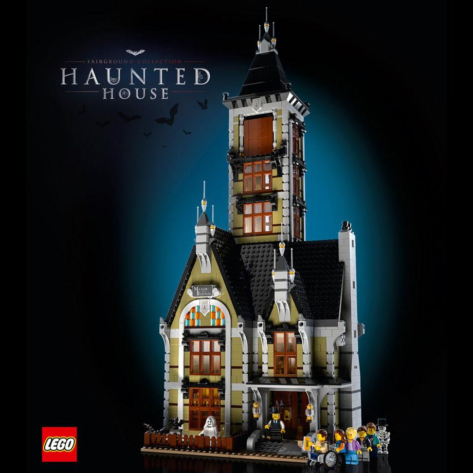 LEGO Geisterhaus auf dem Jahrmarkt