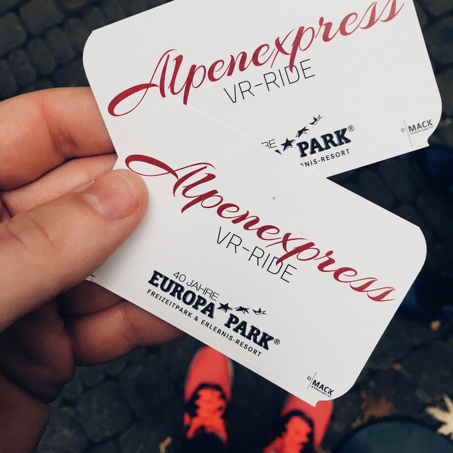 VR Tickets Europa-Park