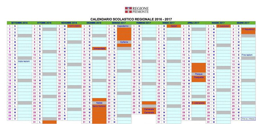 Piemonte Calendario Scolastico.Calendario Scolastico Benvenuti Su Infanziadonbosco