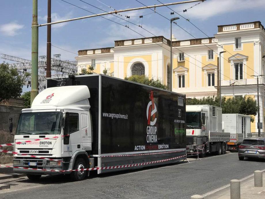 hospitality truck, motorhome