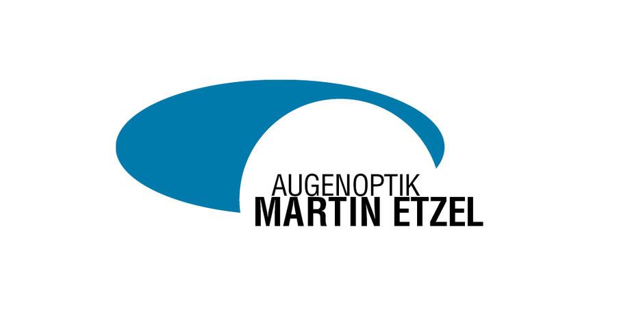 Logo, zweifarbig, Assoziation, Auge, Optik