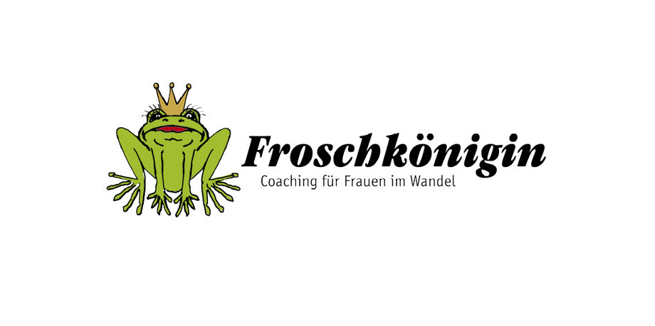 illustration, Frosch, Froschkönig, Coaching, Logo Design, Beratung, bunt, comic, sympathieträger