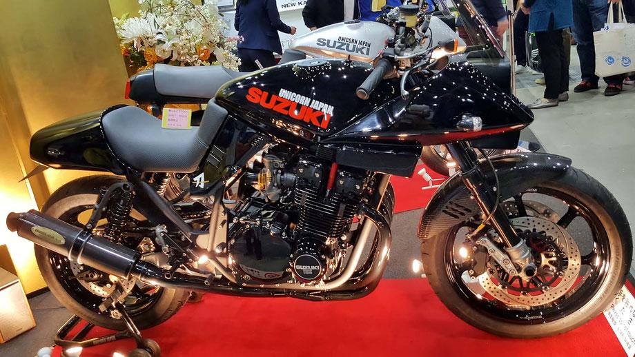スズキ刀 モーターサイクルショー2019