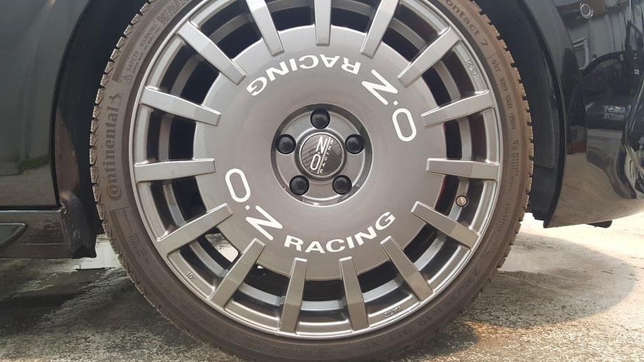 308GTI OZ・ラリーレーシング  セラミックコーティング