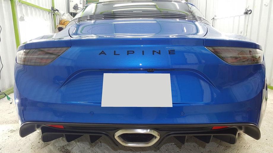 アルピーヌ・A110S  リアバンパー コーティング