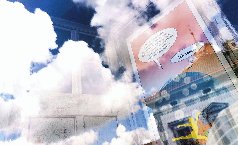 Weißer Stall mit nicht vorhandenen Bewohnern | Atelier| 2019 | Wultschau