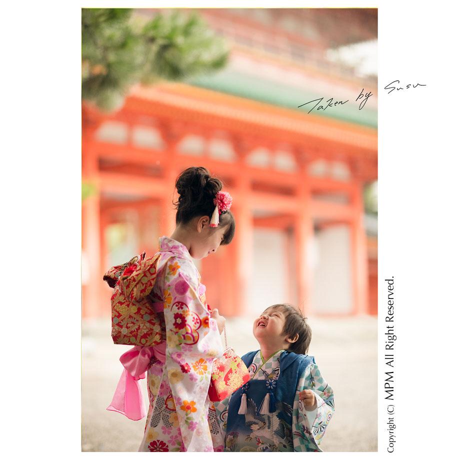 七五三 京都
