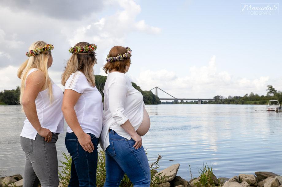 kleider schwanger deggendorf babybauchkleid fotoshooting