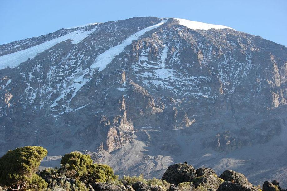 Wetterbedingungen am Kilimandscharo