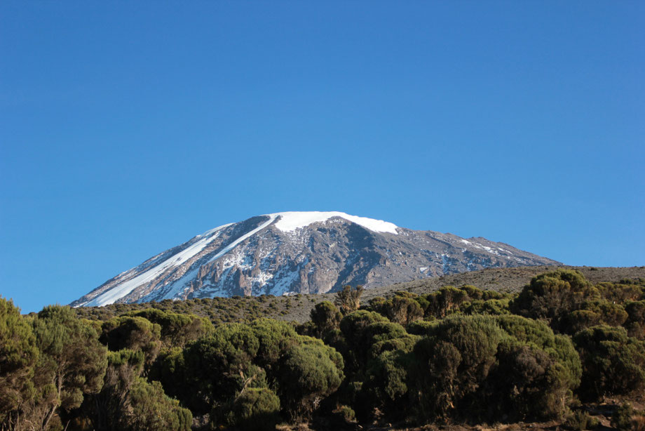 Climbing the Lemosho Route on Mount Kilimanjaro