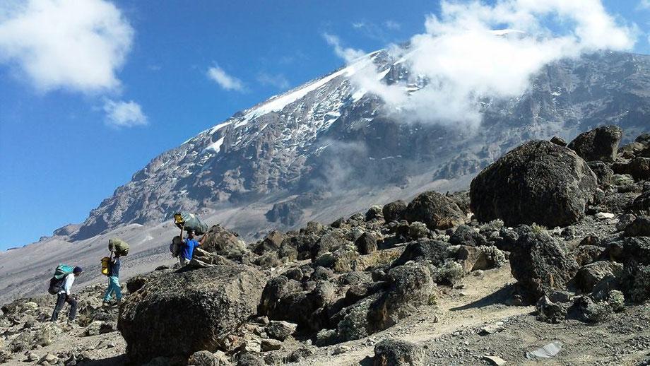 Machame Route - Kilimandscharo Besteigung - Kilimanjaro Company
