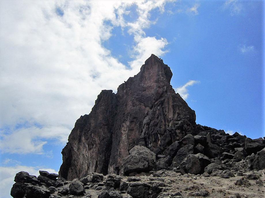 Lava Tower on Mount Kilimanjaro