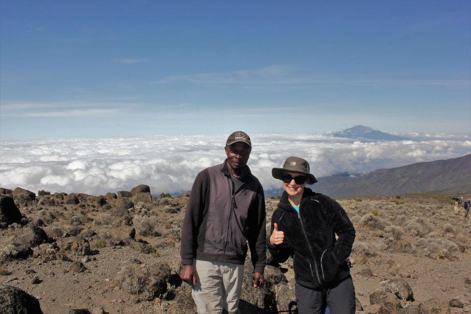 Climbing the Machame Route on Mount Kilimanjaro
