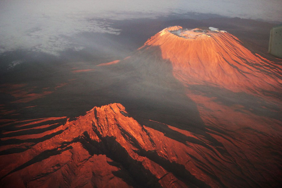 Kilimanjaro from above