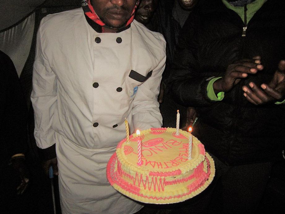 Geburtstag auf dem Kilimandscharo feiern