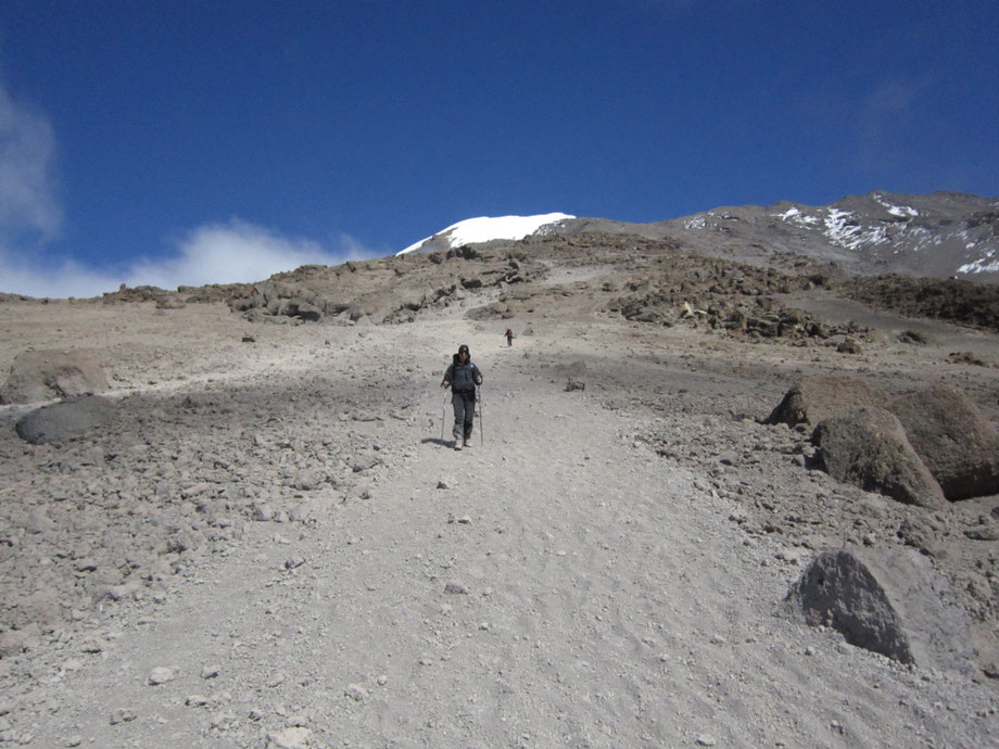 Kilimanjaro Decent from Uhuru Peak