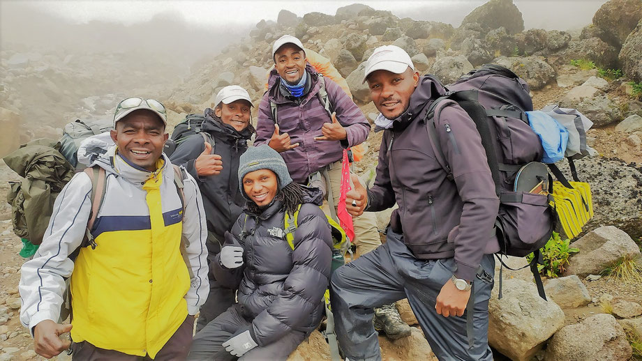 Kilimanjaro Company - your are in good company!