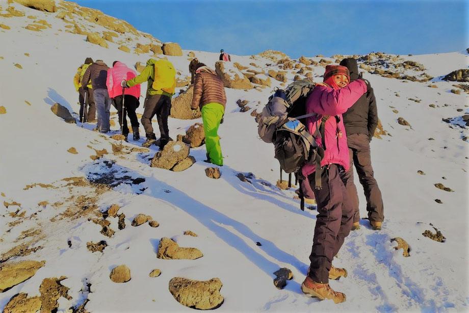 Norther Circuit Besteigung Kilimandscharo