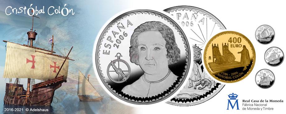 spanien 2004 spain münzen coins dali salvador euro goldmünzen silbermünzen  adelshaus