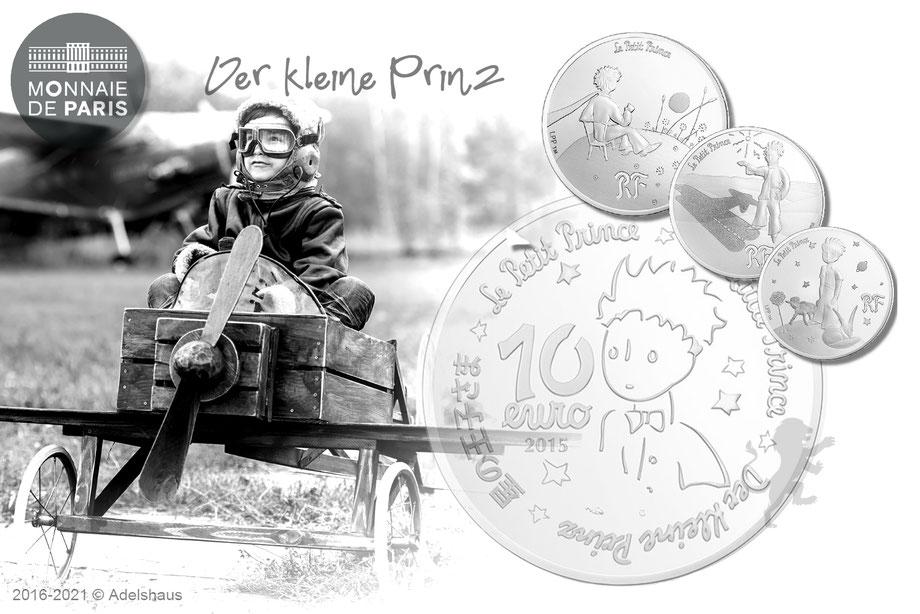 kleiner prinz 2015 goldmünzen silbermünzen adelshaus monnaie de paris little prince gold silber silver