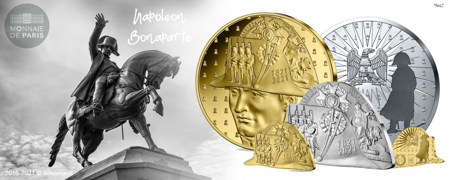 monnaie de paris napoleon bonaparte goldmünzen silbermünzen 2021 adelshaus