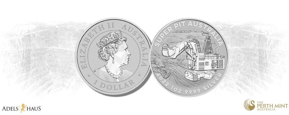 super pit 2021 silber, silbermünze, silver coins, australien, perth mint, 1 unze, silber kaufen, adelshaus,