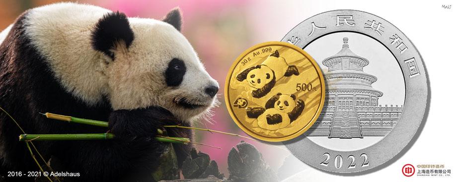 china panda 2022 gold , adelshaus